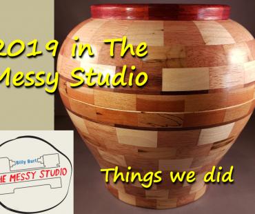 2019 in The Messy Studio… Things we did