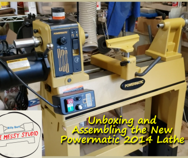 Unboxing and Assembling the New Powermatic 2014 Lathe