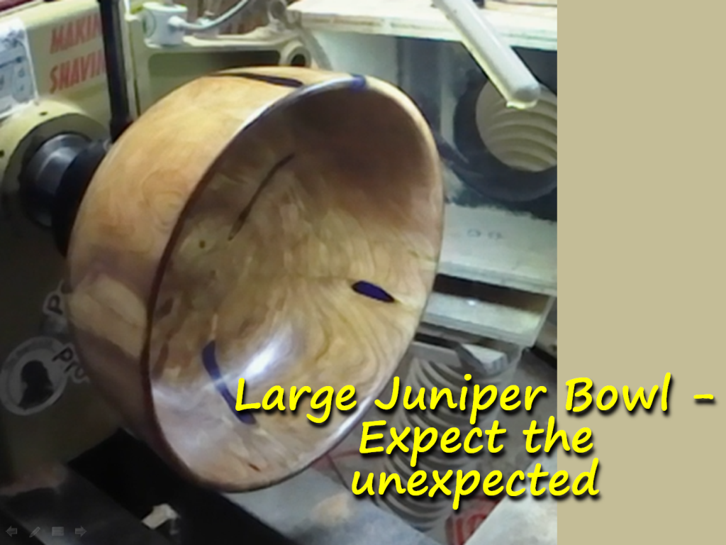 Large Juniper Bowl – Expect the unexpected