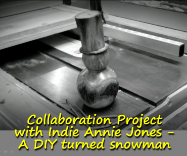 Christmas Collaboration Project with Indie Annie Jones – A DIY turned snowman