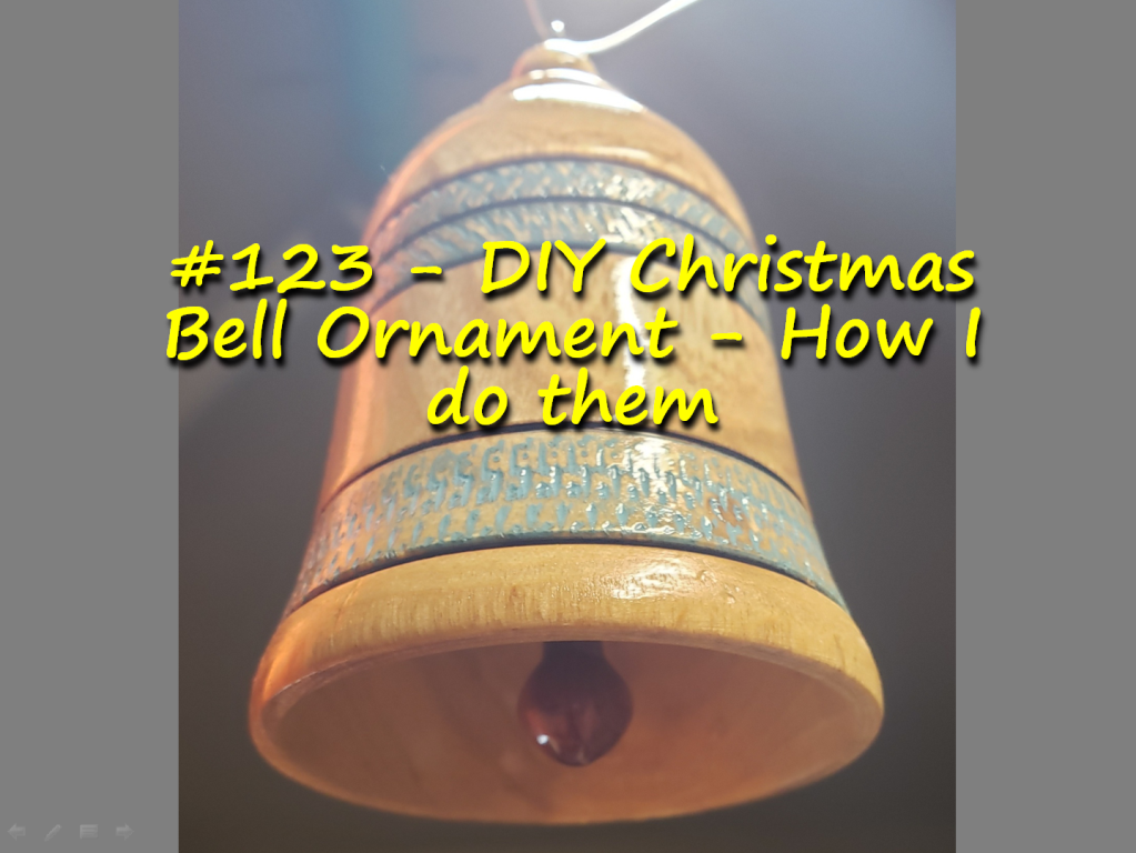 DIY Christmas Bell Ornament – How I do them