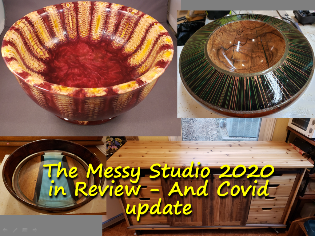 The Messy Studio 2020 in Review – And Covid update