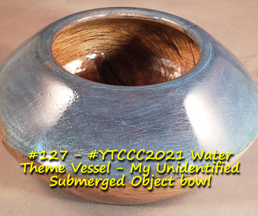 #YTCCC2021​ Water Theme Vessel – My Unidentified Submerged Object bowl