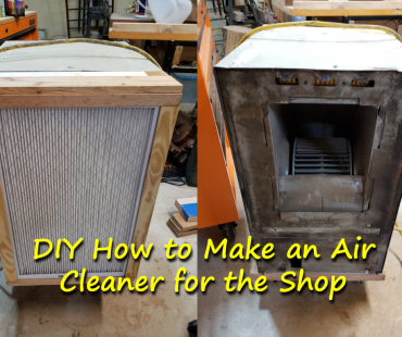 DIY How to Make an Air Cleaner for the Shop