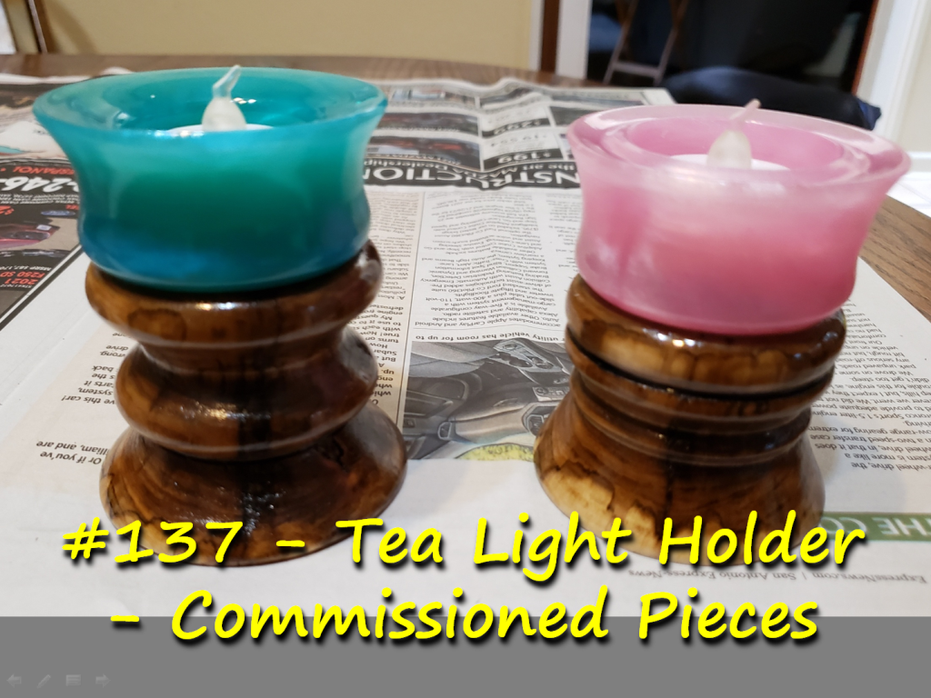 Tea Light Holders – Commissioned Pieces
